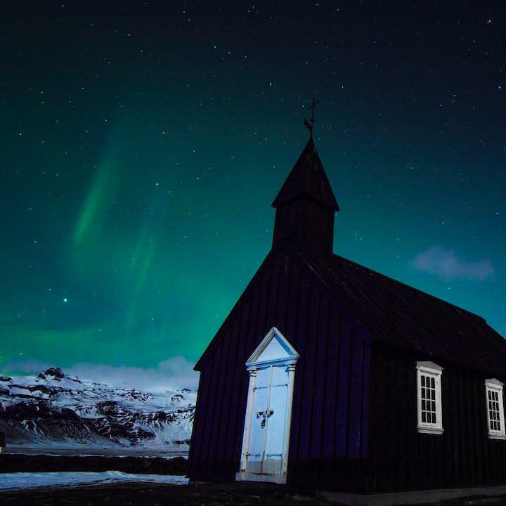 ทัวร์พร้อมไกด์เที่ยวไอซ์แลนด์ 4 วัน - ถ้ำน้ำแข็งสีฟ้า, ชายฝั่งทางใต้ & สไนล์แฟลซเนส
