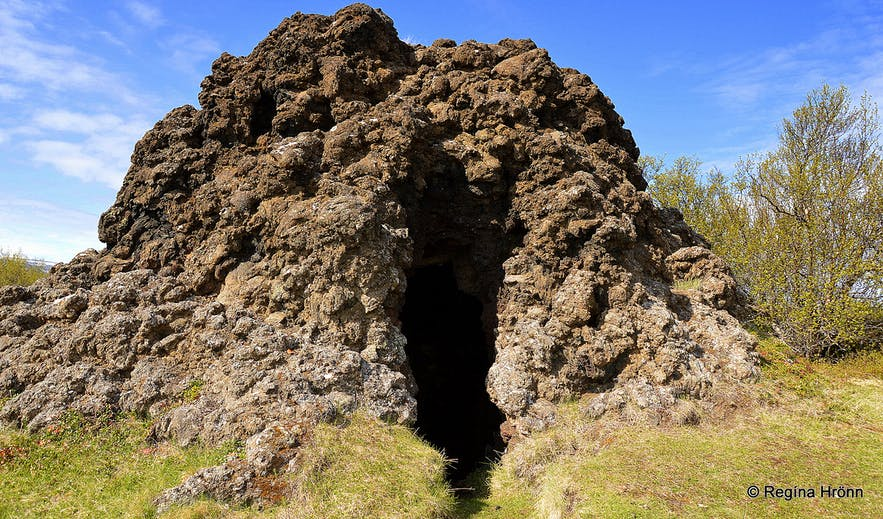 The Peculiar Knútsstaðaborg Lava Chamber in Aðaldalshraun in North-Iceland
