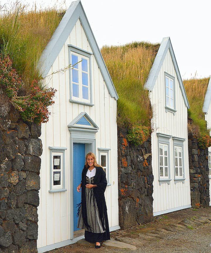 Regína by Grenjaðarstaður turf house North-Iceland