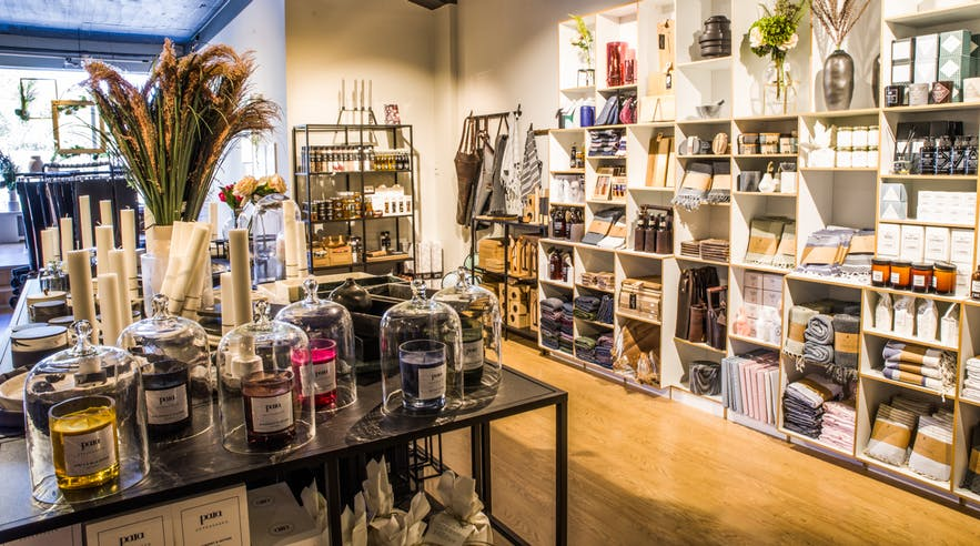 Dimm is a homewares store located just outside of Reykjavik City Centre