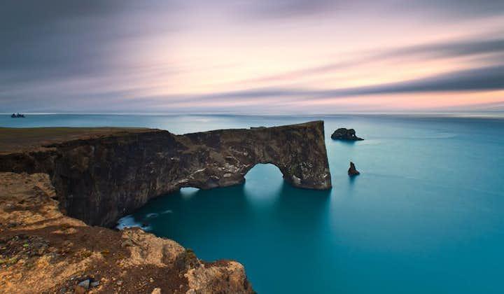 The Dyrholaey arch on Iceland's South Coast