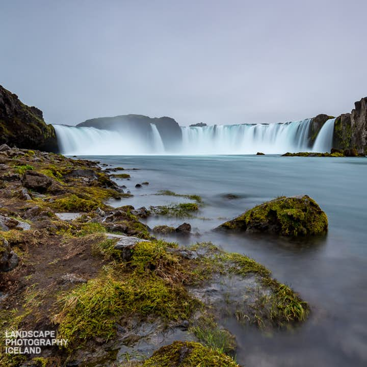 Goðafoss waterfall in Northern Iceland