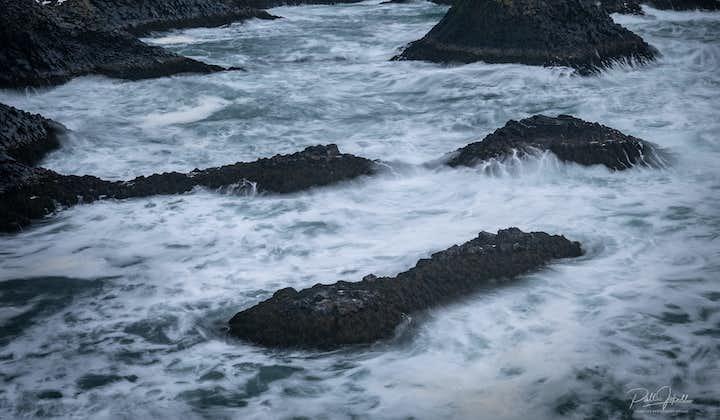 Sea stacks off the snaefellesnes peninsula