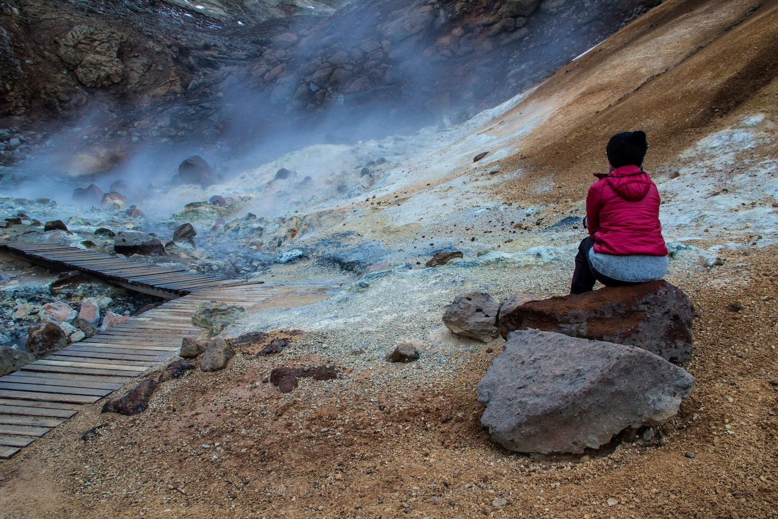 Geothermal Areas - Beautiful, Steamy Smelly Spots