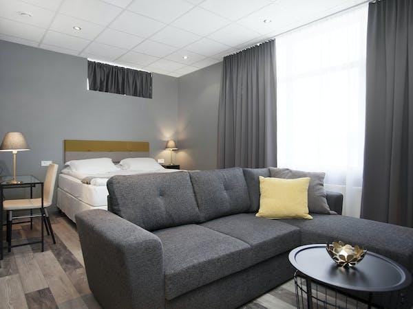 Norðurey Reykjavík Road Superior Double room
