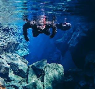 Top-Rated Snorkeling Tour in Silfra & Visit Laugarvatn Fontana Spa