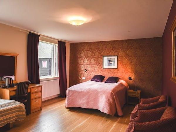 A lovely room at Hotel Látrabjarg