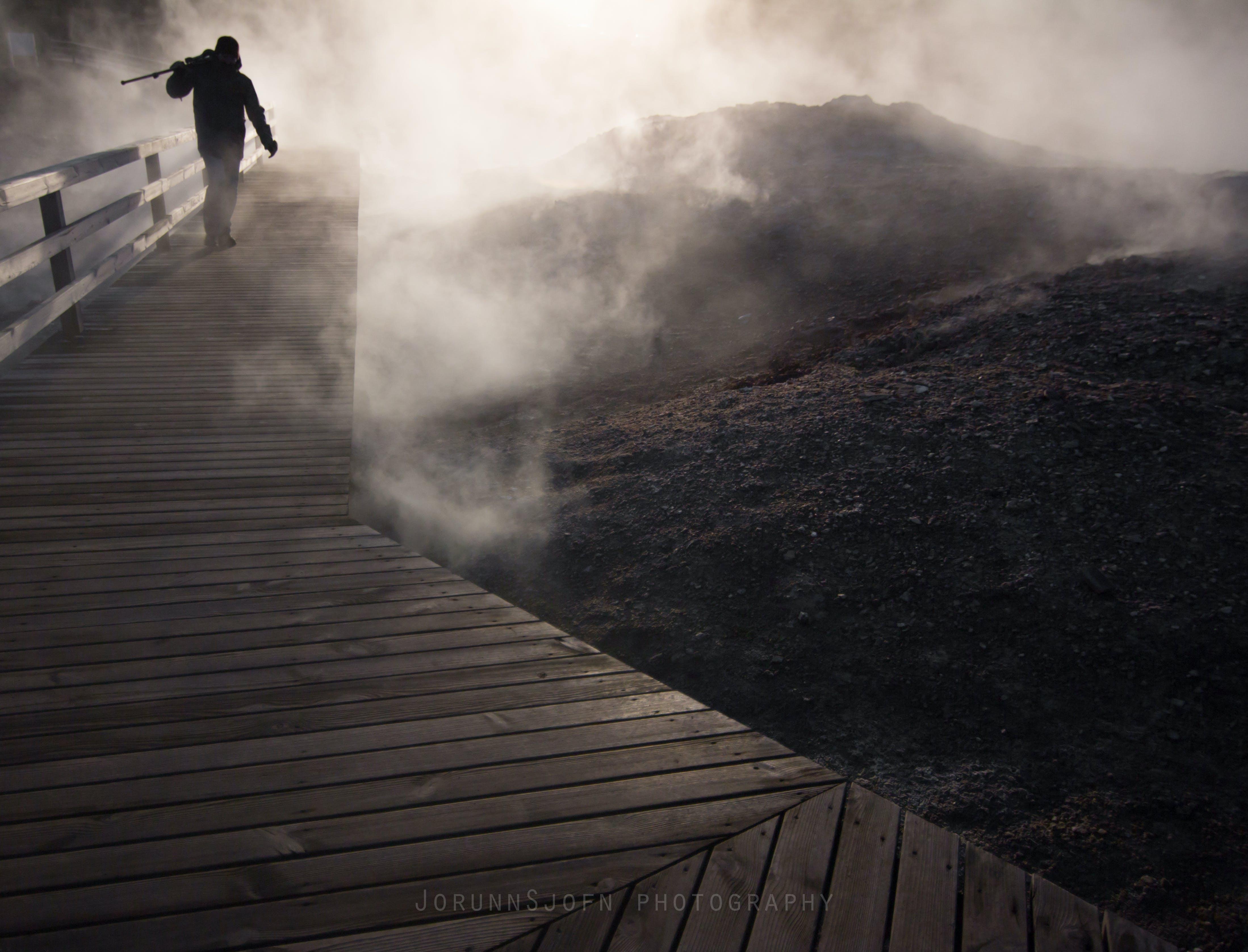 Gunnuhver in Grindavík Iceland