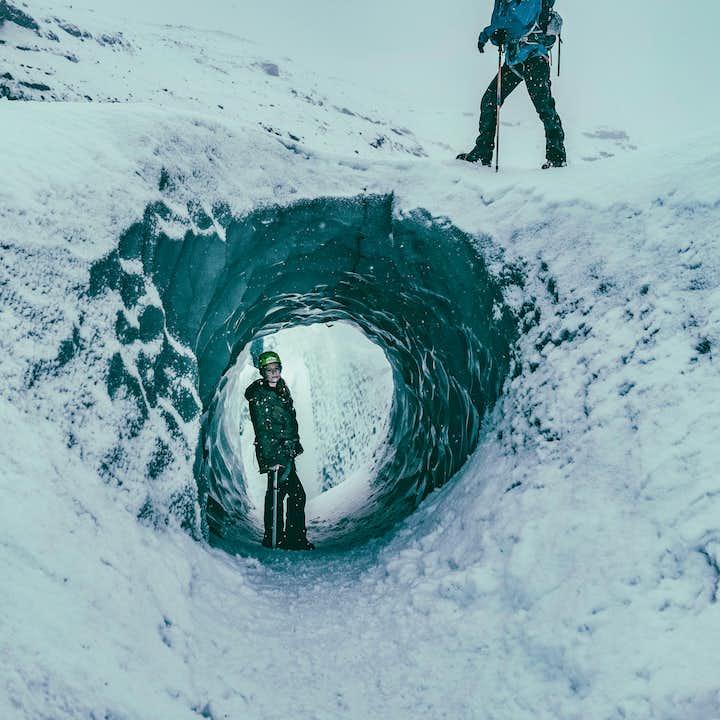 Gletscherwanderung auf dem Sólheimajökull   Moderat
