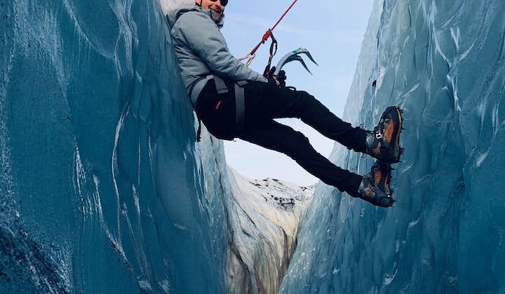 솔헤이마요쿨 빙하하이킹 및 빙벽등반
