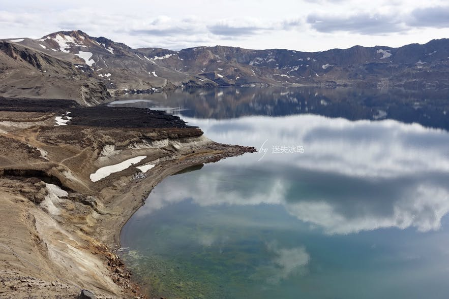 厄斯克湖目前是冰岛第二深的湖泊