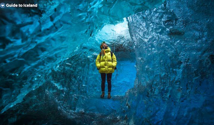 瓦特纳冰川蓝冰洞终极探秘旅行团|自驾至冰河湖集合,游览两座冰洞,无需徒步