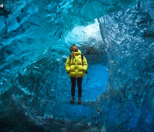 Excursión a la cueva de hielo del glaciar Vatnajökull | Salida desde Jökulsárlón