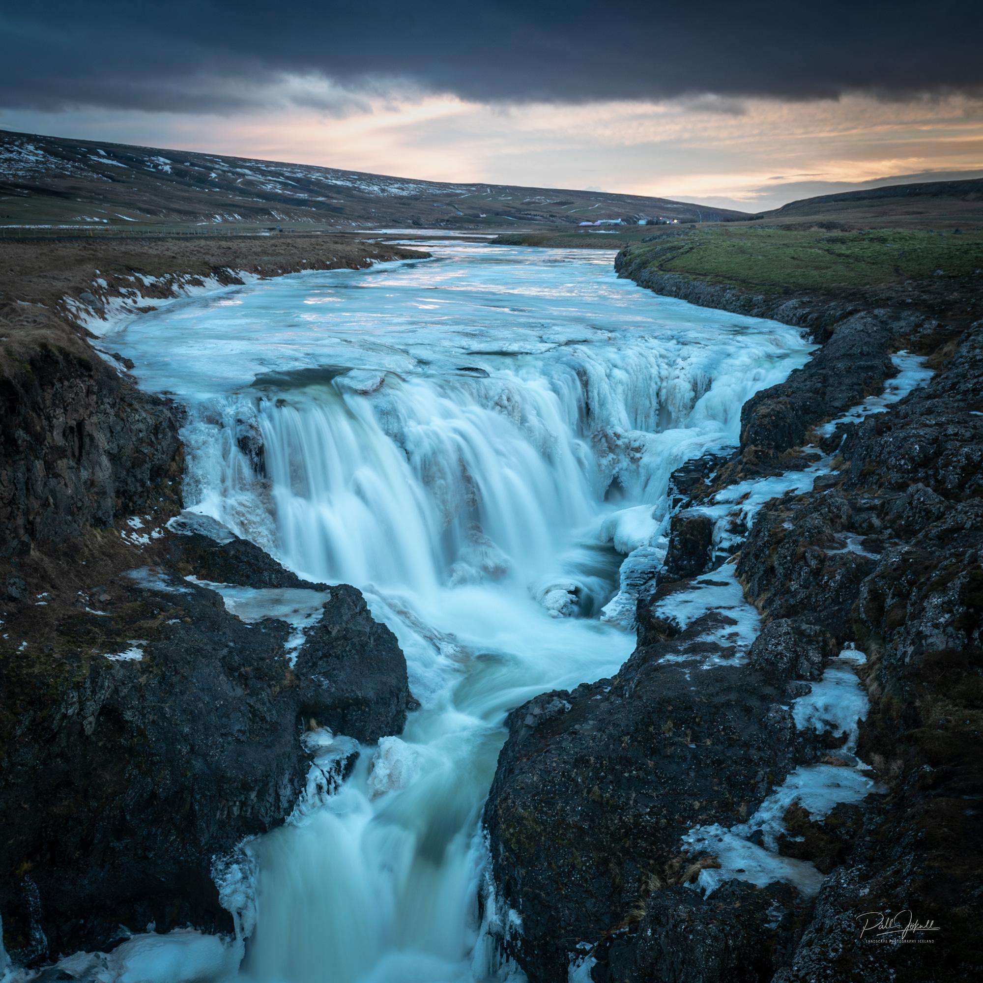 Kolufoss waterfall.