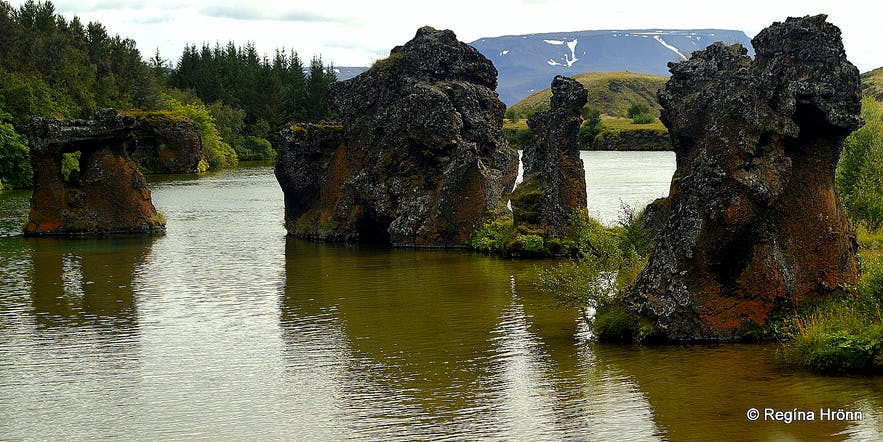 The spectacular Diamond Circle in North-Iceland