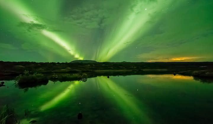 Serene 2 Hour Northern Lights Boat Tour with Transfer from Reykjavik Harbor