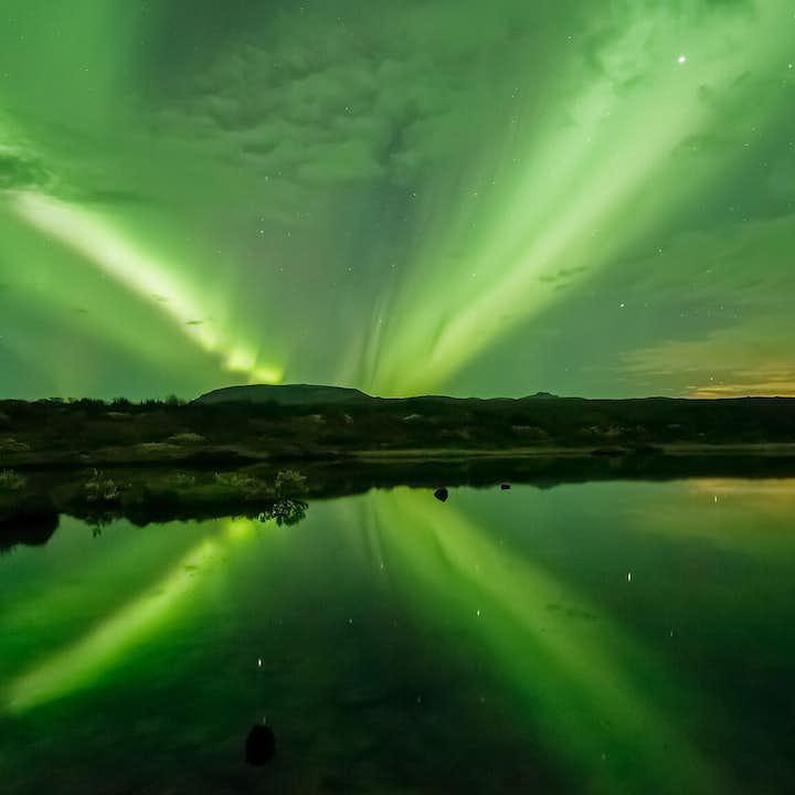 Tour aurora boreale in barca da Reykjavik
