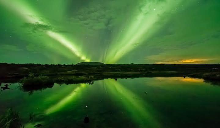 Tour de auroras boreales en barco desde Reikiavik
