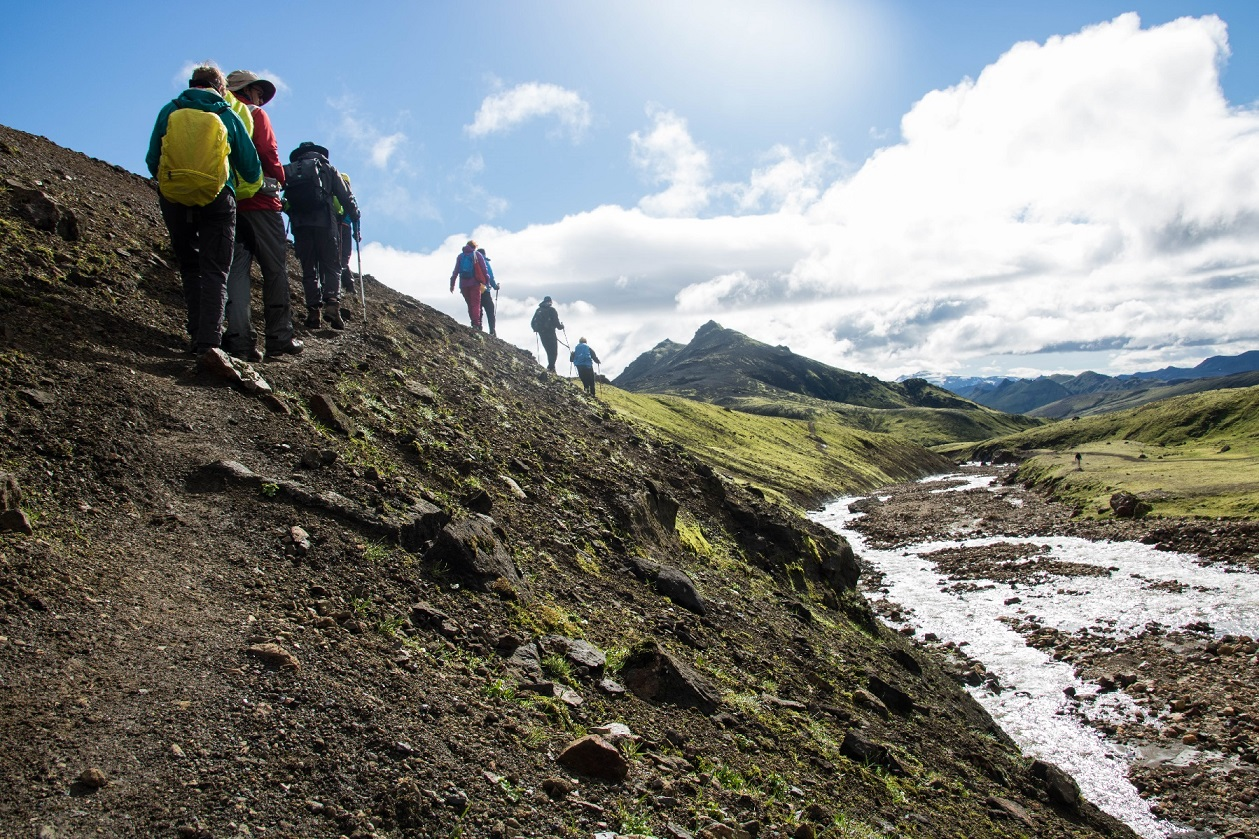 Guided 5 Day Hiking Tour of Iceland's Laugavegur Trail with Camping in Mountain Hunts - day 3