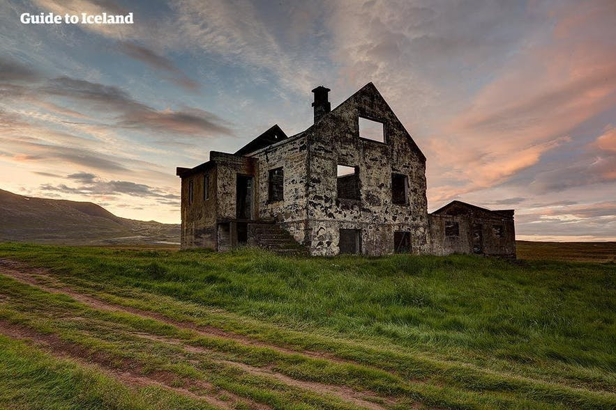 A deserted house in Iceland