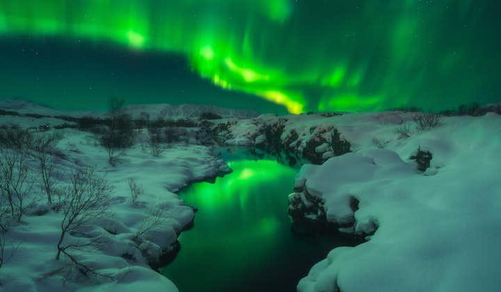 4天3夜冰岛冬季经典自驾游   全程雷克雅未克住宿,黄金圈+南岸+北极光