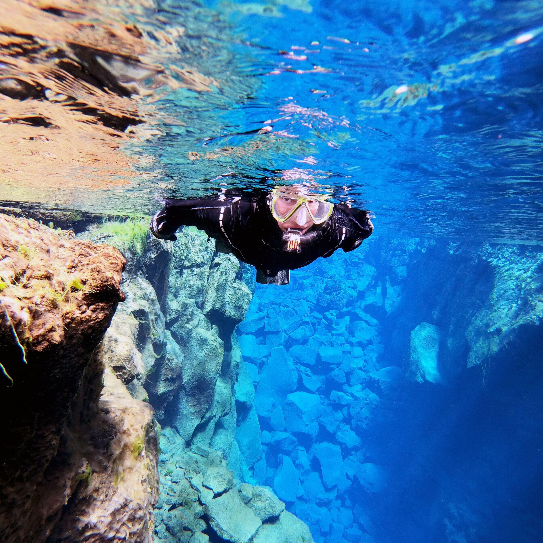 Snorkeling in Silfra Fissure & Horseback Riding | Free photos
