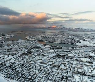 La cima de Reikiavik | Tour en helicóptero