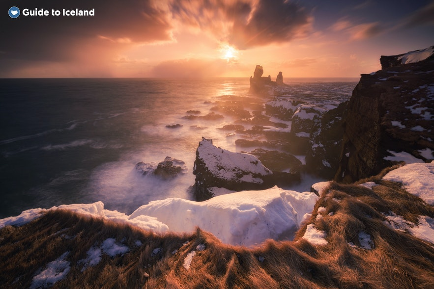 The Londrangar sea stacks on Snaefellsnes Peninsula