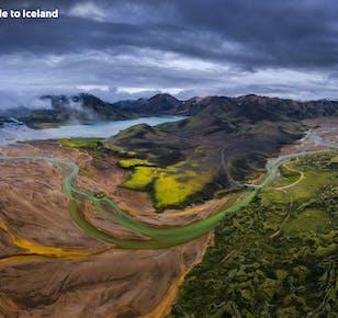 8 días a tu aire en verano | La Costa Sur de Islandia a fondo con un vistazo a las Tierras Altas