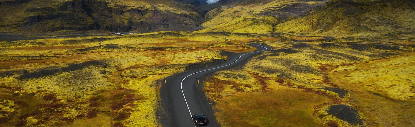 冰岛的一号公路沿途全是无名美景