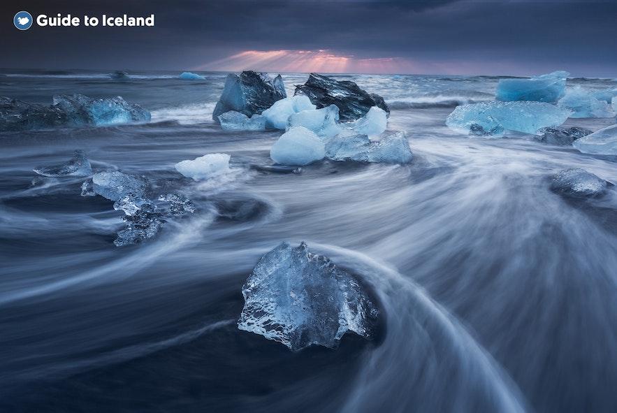 冰島南岸鑽石沙灘