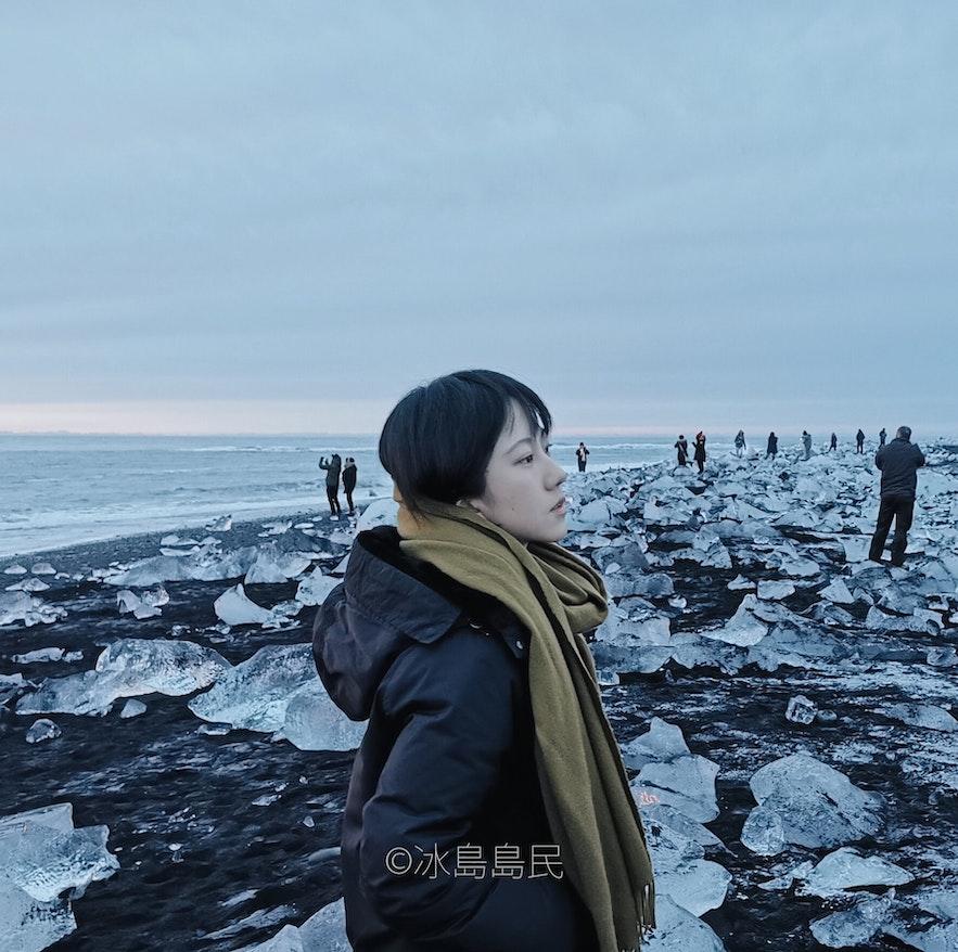 冰島藍冰洞怎麼穿
