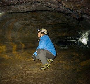 Leiðarendi Cave Adventure Tour