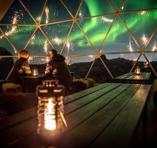Camp de base Aurora - Observatoire des aurores boréales