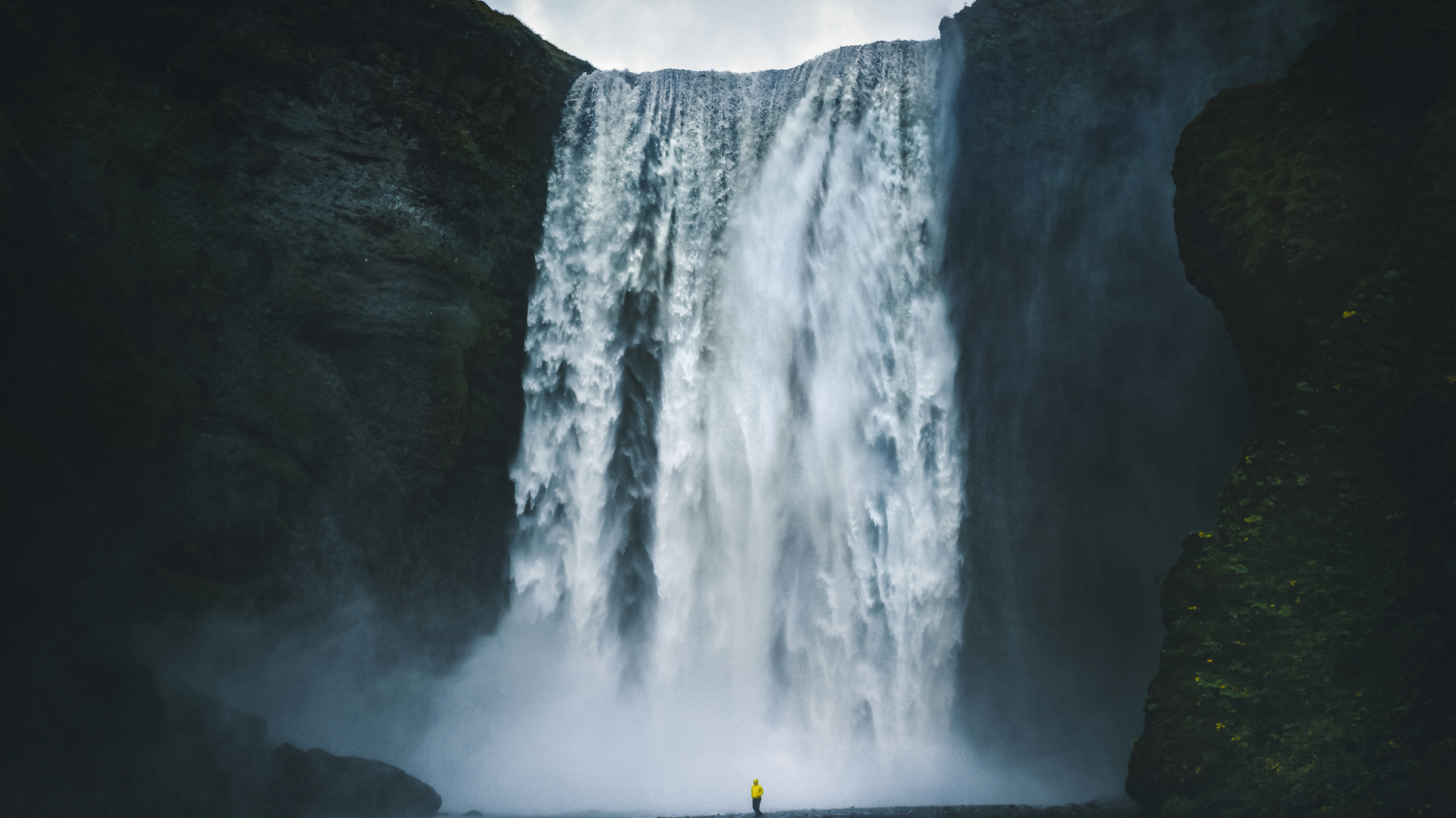 Skogafoss waterfall, one of South Iceland's magnificent waterfalls
