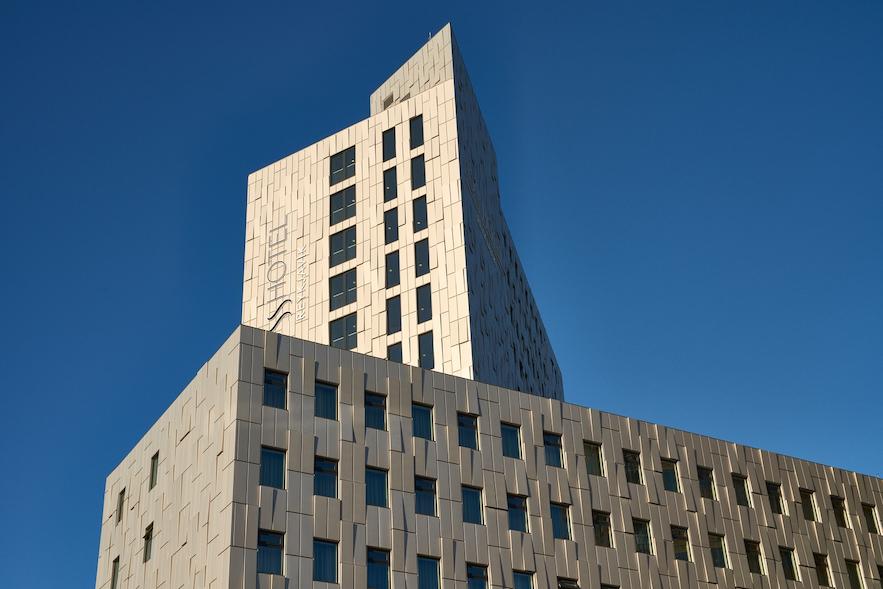 Fosshótel Reykjavík is one of the cities biggest hotels.