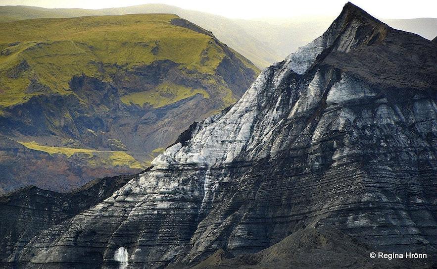 Parts of Kötlujökull - the Katla glacier in S-Iceland