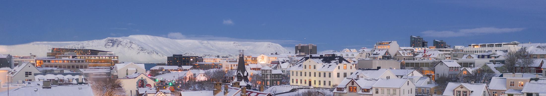 Lei en bil i Reykjavík