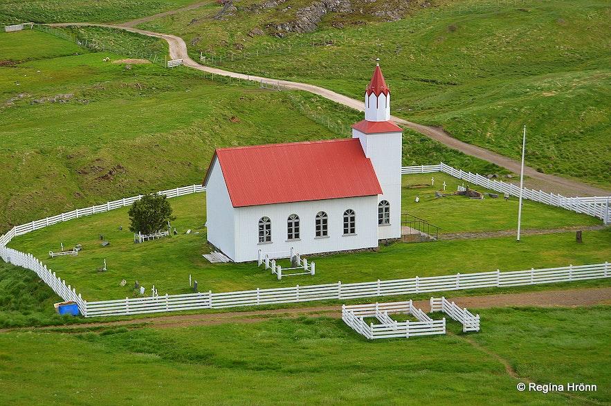 Helgafellskirkja church Snæfellsnes