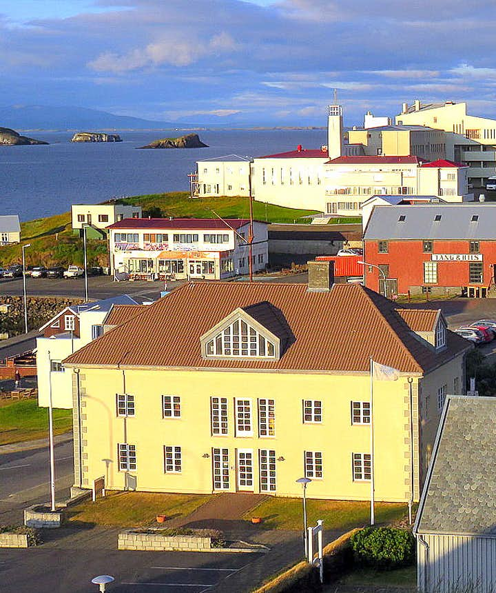 Stykkishólmur town on Snæfellsnes