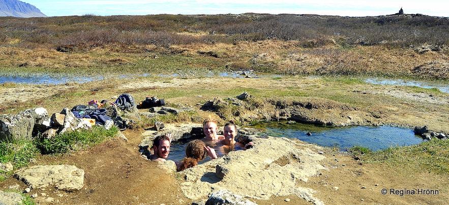 Landbrotalaug hot spring