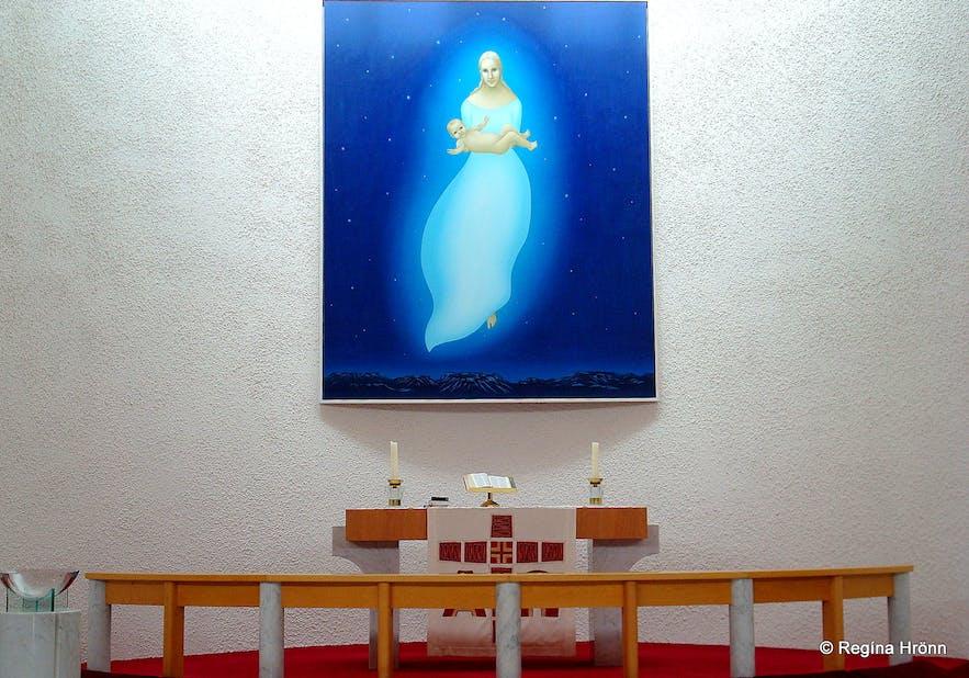 Stykkishólmskirkja church on Snæfellsnes