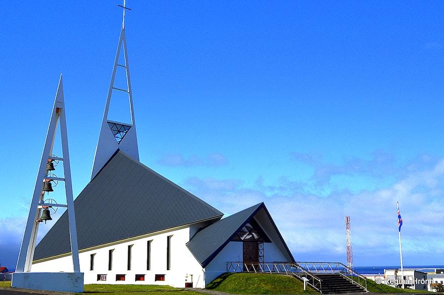 Ólafsvíkurkirkja church Ólafsvík Snæfellsnes