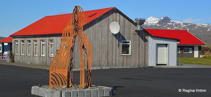 Vegamót hotel on the Snæfellsnes peninsula