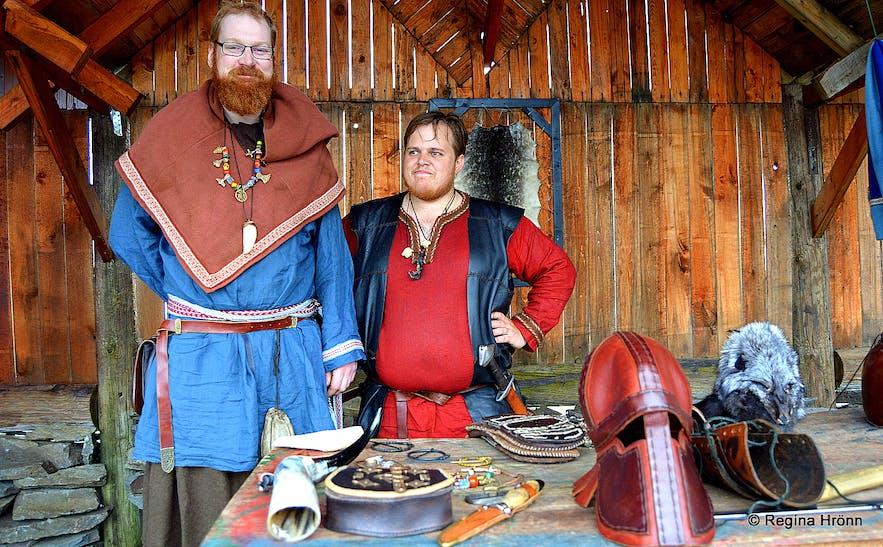 Vikings in the Viking club Glæsir in Grundarfjörður