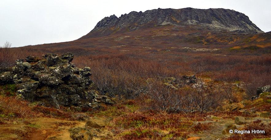 Eldborg crater Snæfellsnes