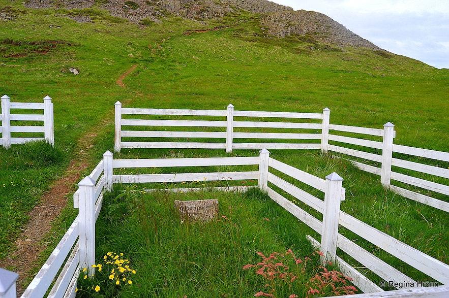 Mt. Helgafell in west Iceland