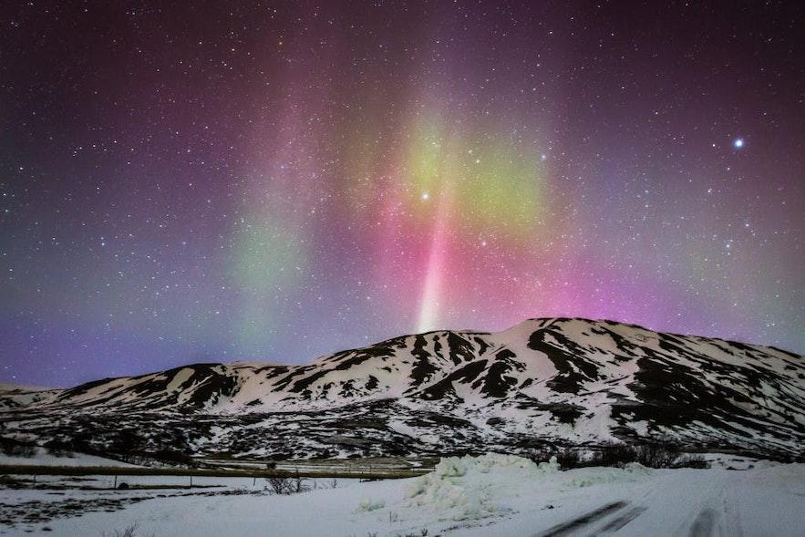 sortie aurores boréales en Islande