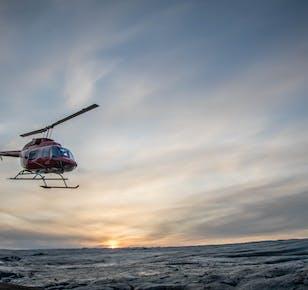 Eyjafjallajökull Glacier Helicopter Tour