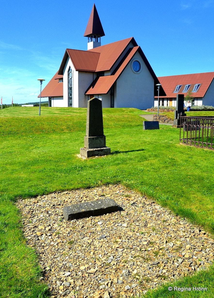 Sturlungareitur at Reykholt West-Iceland
